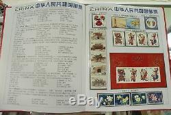 Chine Stamp 2005 Timbre Annuel Album Toute L'année 28 Séries De Timbres + 4 S / S Mnh