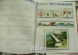 Chine Stamp 2010 Stamp Album Annuel Toute L'année 30 Séries De Timbres + 4 S / S Mnh