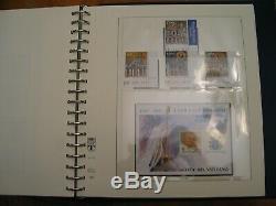 Cite Du Vatican 1929 À 2008 Mnh Collection 4 Lindner Stamp Albums