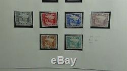 Classiques Islande Timbre Collection Dans L'album De Lindner Avec Est. 550 To'89
