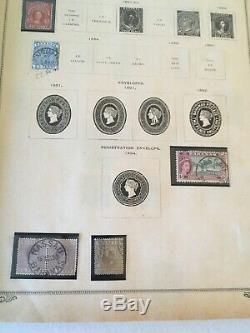 Collection 1897 Scott Album A Nombre De Meilleurs Timbres Étrangère Bk-3