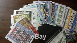 Collection 36 Générique Smilers Sheets 2002-2008 Timbres Album Environ Fv £ 547.20