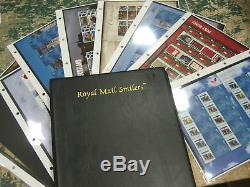 Collection 36 Générique Smilers Sheets 2005-2010 Timbres Album Environ £ 450 Fv