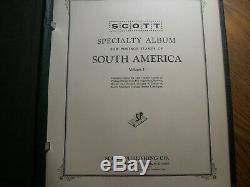 Collection Brésil 1843 1969 Album Scott Avec Timbres Neufs Et Timbrés