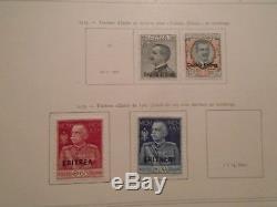Collection Classique Avant 1930 Dans Cet Album Épais Yvert Vf D'occasion Vf Neutre À Charnière