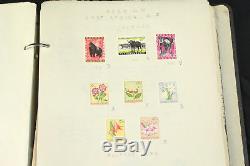 Collection D'album De Timbres De Belgique Congo Afrique Ruanda Urundi Surimpressions Menthe 1849+