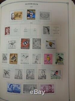 Collection D'albums De Timbres Scott International À 3 Volumes, 1964-1972