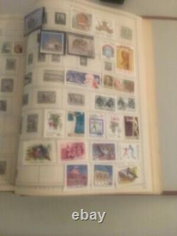 Collection Dans Timbre-poste Ww Album The New Us Canada L'europe Britannique Un Bk-4