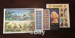 Collection De 14 Feuilles De Cachet Us 32 Cent De Po À Sheet, Album Neuf Sans Charnière