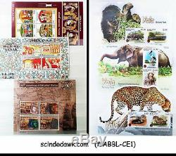Collection De Ceylan Timbres Du Classique Au Moderne Dans L'album