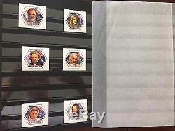 Collection De Prix Nobel Scientifiques, Album Prinz De 32 Pages Avec Jeux De Timbres De La Mnh