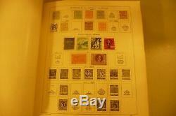 Collection De Timbres À 1939 Schaubek Album World 240 Pages Préimprimés De Timbres De 100
