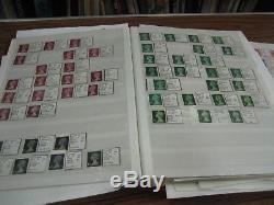 Collection De Timbres À Collectionner Spécialisés Et Régionaux Mnh Fv 265 € Mnh 2 Albums