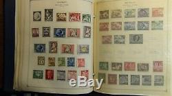 Collection De Timbres Allemand Dans L'album Scott Int'l Avec 2.800 Ou Si Stamps'80 Bonne Menthe