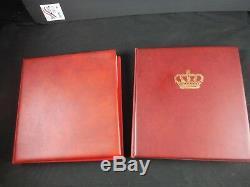 Collection De Timbres Complète Du 25e Anniversaire De Coronation Mnh X2 Lindner Albums