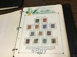 Collection De Timbres D'irlande Dans Des Albums! Vente Immobilière Trouver! À Voir! 100+ Photos