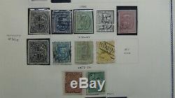Collection De Timbres D'uruguay En Album Scott Specialty Avec Environ 1 750 Timbres '80 $$