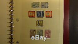 Collection De Timbres De Berlin Allemande Dans Un Album Sans Charnière Safe Avec Environ 825 Timbres
