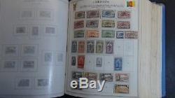Collection De Timbres De Colonies Françaises En 2 Vol. Albums Minkus Avec Environ 4 650 À 97