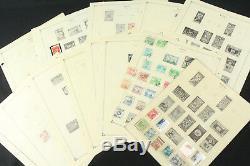 Collection De Timbres De Corée Sur Les Pages D'album Scott 1948-1962, Look Neuf