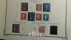 Collection De Timbres De Europe Britannique, Océanie Et GB In 2 Vol. Scott Spécialité Albums