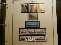 Collection De Timbres De Grande-bretagne Dans Un Album Spécialisé De Scott
