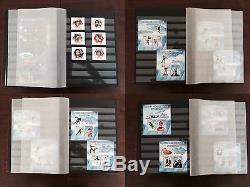 Collection De Timbres De Sports Olympiques De Football 2014 De Sochi Sports Mnh, Album Prinz De 32 Pages