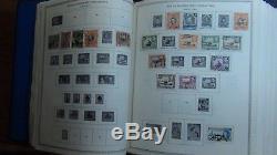 Collection De Timbres Des Colonies Britanniques En 2 Vol. Minkus Albums À 92 Ou À Peu Près