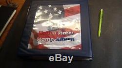 Collection De Timbres Des États-unis Dans Un Album En Couleurs C. Diaz Avec Environ 105 Timbres