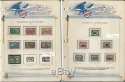 Collection De Timbres Des États-unis Dans White Ace Album 1893-1939 Commemoratives, Jfz