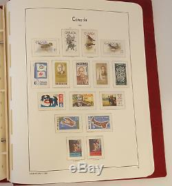 Collection De Timbres Du Canada Mnh 1967-1993, Phare Hingeless Pages 1851-1993 + Bob