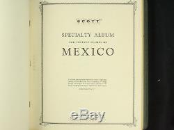 Collection De Timbres Du Mexique À Scott Album Spécialisé Mint & Used Withbob, Sheets ++