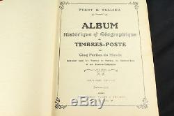 Collection De Timbres Du Monde Ancien, Album Yvert & Tellier, Europe Du Début Europe Chine Japon ++
