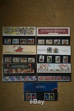 Collection De Timbres Du Monde Dans Les Vieux Coffrets De Présentation Album Plus Mint