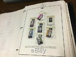 Collection De Timbres Du Monde Entier + Album Kennedy Envoi Gratuit! 90+ Photos