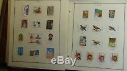 Collection De Timbres Du Monde Entier Sur Les Pages De L'album Scott Int'l 2001 Avec 2 150