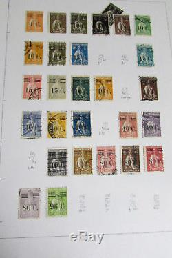 Collection De Timbres Du Portugal Dans L'album