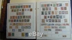 Collection De Timbres En Italie Sur Les Pages D'album Minkus -93 Avec Environ 1600 Timbres