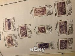Collection De Timbres Etats-unis Dans L'album Harris Liberté Plus De 400 Timbres