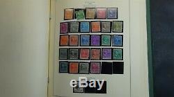 Collection De Timbres Etats-unis Dans L'album Scott National Avec Est. 445 Stamps'70