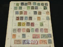 Collection De Timbres Impressionnante France Lot Sur Scott Album Pages 1850-1960 Bob, Early ++
