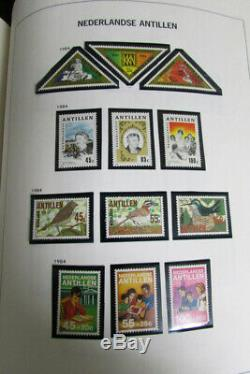 Collection De Timbres Neufs À La Menthe De 95% Des Colonies Des Pays-bas Dans L'album Davo