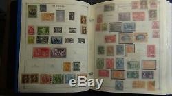 Collection De Timbres Philippines Dans L'album Scott Int'l Avec Est. 2.800 Stamps'89