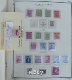 Collection De Timbres Puissants De Menthe Ryukyu Dans Un Album Spécialisé De Scott Impressionnant