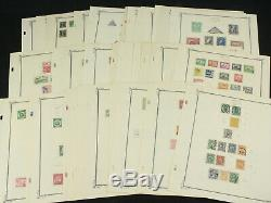 Collection De Timbres Super Clean Bolivia Lot Sur Les Pages D'album Scott Avecearly, Mint ++