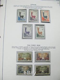 Collection De Timbres Togo Mint Nh Dans L'album