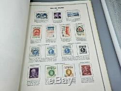 Collection De Timbres U. S. Dans Liberty Album Harris Des Années 20 Aux Années 1970
