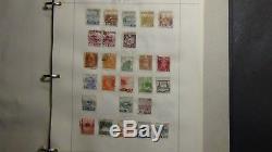 Collection De Timbres Ww En 10 Vol. Albums Faits Maison Avec 7 500 Timbres