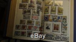 Collection De Timbres Ww En 4 Vol. Regent Albums Chargés Avec Environ 20k Timbres