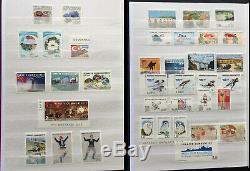 Collection De Turquie Timbres & Feuillets Dans Un Album All Mint Nh